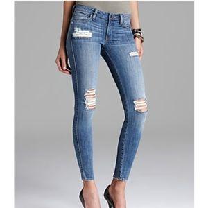 Genetic Denim Shya Cigarette Distressed Jeans